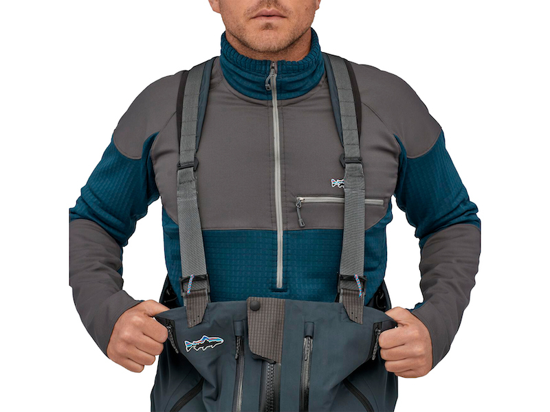Вейдерсы Patagonia Swiftcurrent Expedition Zip-Front Waders