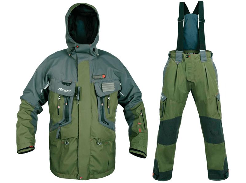 Костюм для активной рыбалки GRAFF 629-B/729-B